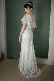 vintage style wedding dress 1930s vintage style wedding dress angel lace skirt with pretty
