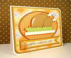 thanksgiving card i use a cricut cartdrige create a critter