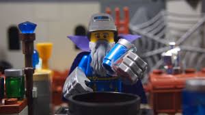 the blue wizards a lego hobbit stop motion youtube