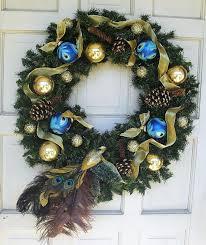 front door decorations corner