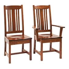 Unfinished Wood Chairs Amish Dining Chairs Amish Furniture Shipshewana Furniture Co