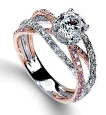 Rose Wedding Ring by Best 25 Rose Wedding Rings Ideas On Pinterest Pretty Rings