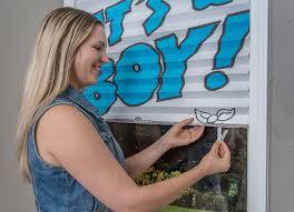 it u0027s a boy happy birthday pleated paper shades amazon com