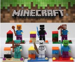 minecraft cake topper minecraft pixelated gamer block cake topper 6 figure set