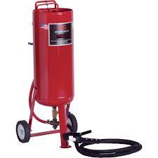alc abrasive blaster u2014 90 lb capacity model 40002 portable