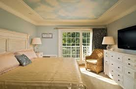cape cod style bedroom with light blue wall paint color home
