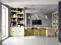 small kitchen and living room extraordinary home design