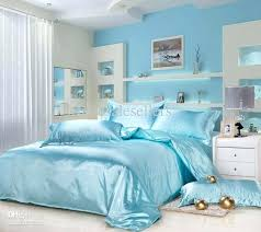 Blue And Brown Bedroom Set Light Blue And Brown Duvet Covers Luxury Bamboo Fiber Tencel