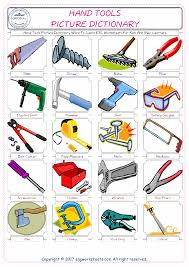 hand tools free esl efl worksheets made by teachers for teachers