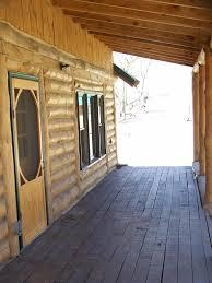 sawlog cabin on ponderosa ranchcrawford nebraska western view