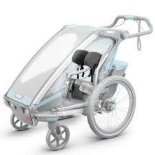 siège bébé caddie thule chariot siège maintien pour bébé pour remorque de vélo