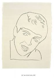 paul mccartney by andy warhol on artnet