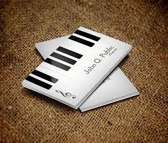 musical cards piano musician business card by es32 on deviantart