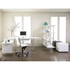 White Home Office Desks Office Workspace Luxury White Home Office Design Ideas