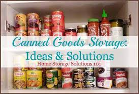 how to store food in a cupboard can storage ideas solutions how to organize canned food