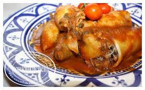 cuisiner le calamar calamars farcis à la marocaine sousoukitchen
