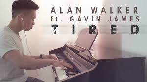 alan walker tired mp3 alan walker ft gavin james tired piano cover by ducci youtube