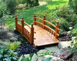 small garden bridge wooden garden bridges satuska co