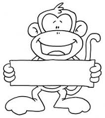 25 free printable monkey coloring pages kids monkey