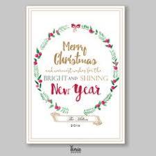 modern new years cards modern new years card with snowflake embellishments u4ria design