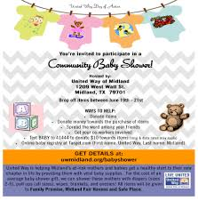 design baby shower flyer