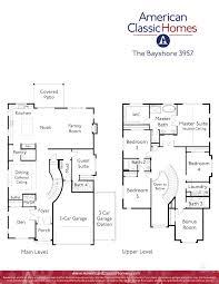 three car garage floor plans bayshore seattle wa new homes american classic homes