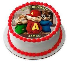 alvin and the chipmunks cake toppers alvin and the chipmunks edible cake topper cupcake toppers