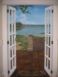 trompe l oeil french doors by linda cassels hofmann and tim haas trompe l oeil french doors by linda cassels hofmann and tim haas