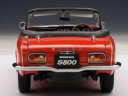 honda roadster honda s800 roadster 1966 die cast model autoart 73276