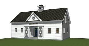View House Plans by Popular Barn House Plans