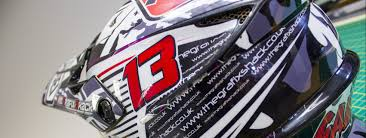 motocross helmet wraps the grafix shack custom printing mx motocross worcestershire