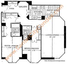 2 Bedroom Condo Floor Plan Wanamaker House Condos 2020 Walnut Street High Rise