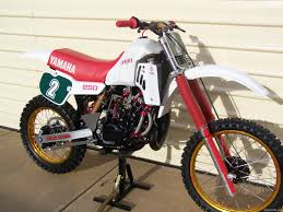 250 motocross bikes for sale 1983 yamaha yz250k euro red white showcase bike vintagemx net