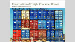 so you what to build a house out of shipping and freight