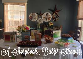 storybook themed baby shower s diy storybook baby shower the oaks