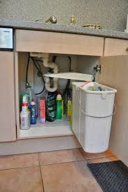 100 under cabinet trash can pull out simplehuman pull out