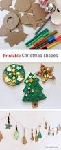 printable christmas shapes the craft train