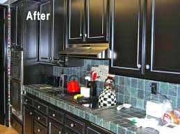 How To Paint Kitchen Cabinets Black Paint Kitchen Cabinets Black Exquisite Painted Black Kitchen