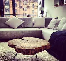 Wohnzimmertisch Dekorieren Couchtisch Holztisch Aus Einer Baumscheibe Baumscheibentisch