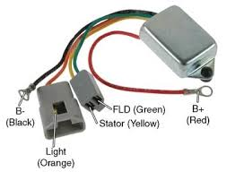 d7014 conversion regulator for delco remy 10dn series external