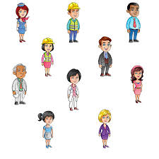 illustrated character sample pack 02 elearning network