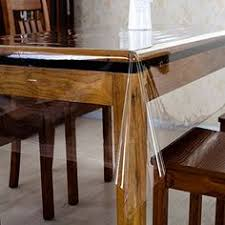 thick clear vinyl table protector ks clear plastic tablecloth vinyl table protector soft glass table