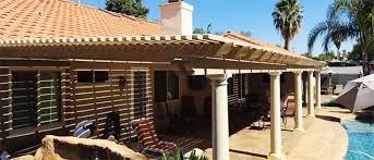 aluminum patio covers temecula ca aluma wood patio covers