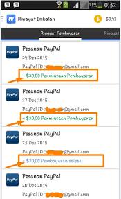 buat akun paypal whaff bukti pembayaran whaff rewards sai ke rekening bca aplikasi