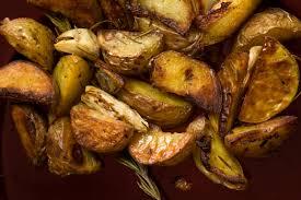 easy roast potatoes recipe chowhound