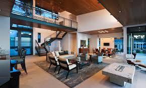 modern open floor plans modern living room open plan house interior design ideas house