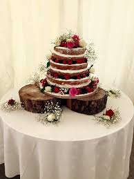 victoria sponge wedding cake 3 tier with strawberry jam