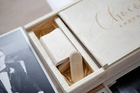 engraved memory box wedding photo keepsake box compartment usb engraved personalized