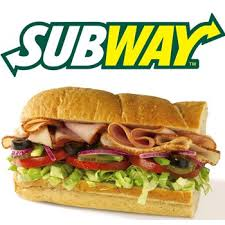 cuisine subway 21 for six meals to be used in 3 separate visits 2 meals per visit