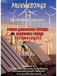 pgsret proceedings iiu solar energy renewable energy